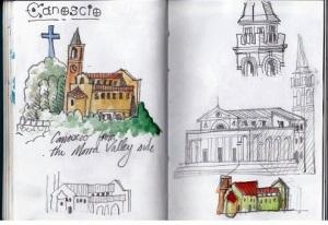 Canoscio sketches