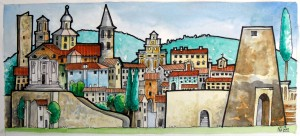Castello Umbria Painting