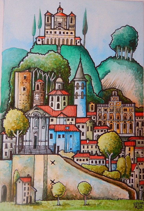 Umbrian town