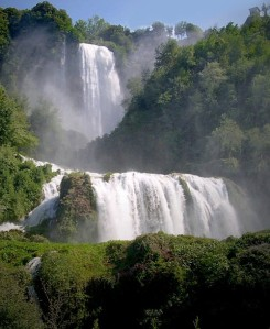 waterfall Italy