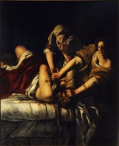 Judith beheading Holmes