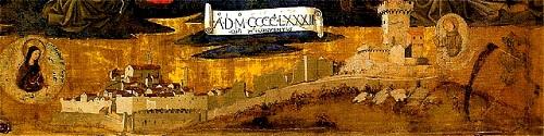 Medieval Montone painting