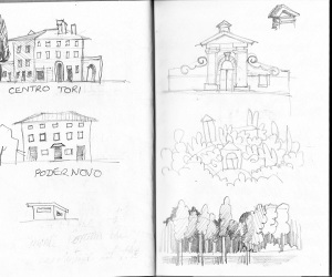 Drawing Monte Corona