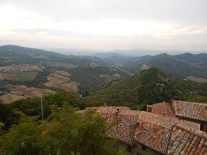 View from Monte Santa Maria Tiberina