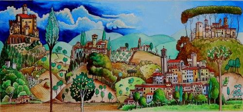Umbrian valley