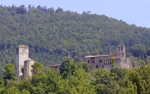 Medieval walled village