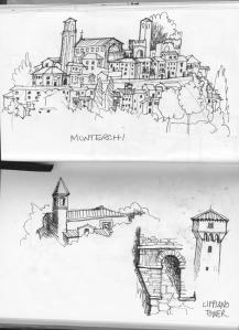 Monterchi study