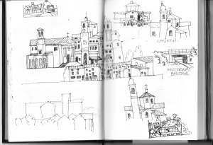 Cantiano sketches