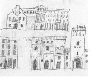 Cagli's buildings