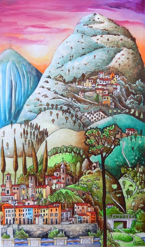 Le Marche village