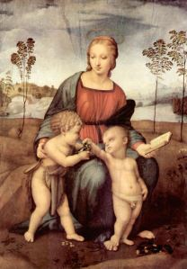 Raffaello Sanzio - Madonna and the Goldinch