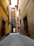 3) Alley way on Via Madonna