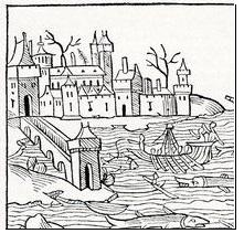 15th Century German Woodcut