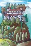 Civitella Ragnieri 10x15cm Watercolour