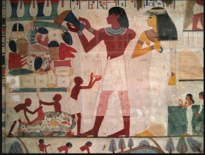 Tomb painting