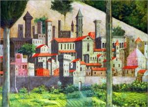 Benozzo Gozzoli painting