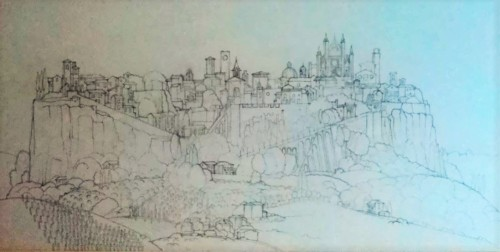 Orvieto drawing