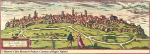 Orvieto old map