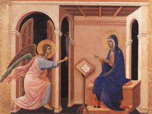 Annunciation of Death of the Virgin_Siena,Museo dell opera del Duomo