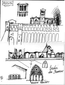 Assisi Sketch1